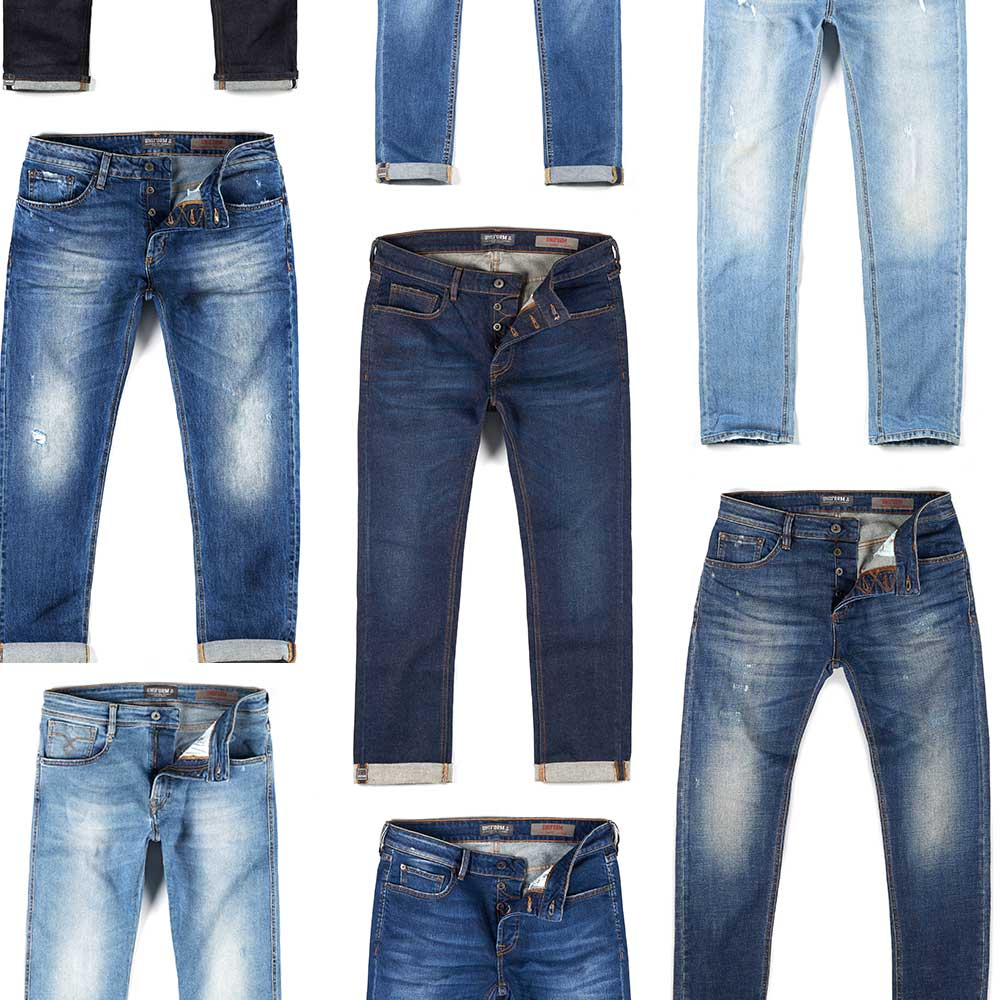 uniform jeans washings